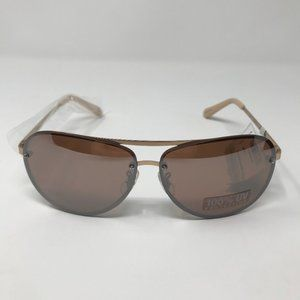 Fossil Women's Rose Gold Aviator Sunglasses NWT